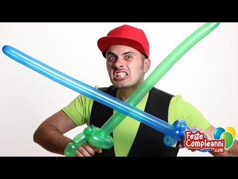 Balloon Pirate Sword - Palloncini modellabili Spada Pirata - Tutorial 01 - Feste Compleanni - YouTube