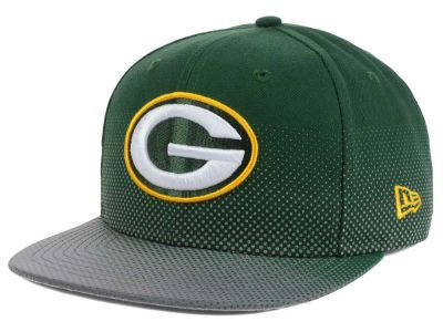 Green Bay Packers New Era NFL Flow Flect 9FIFTY Snapback Cap