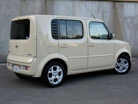 Nissan Cube-my choice