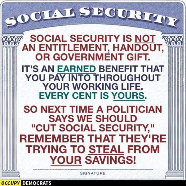 #BernieSanders wants to expand your #SocialSecurity Benefits! #FeeltheBern2016.
