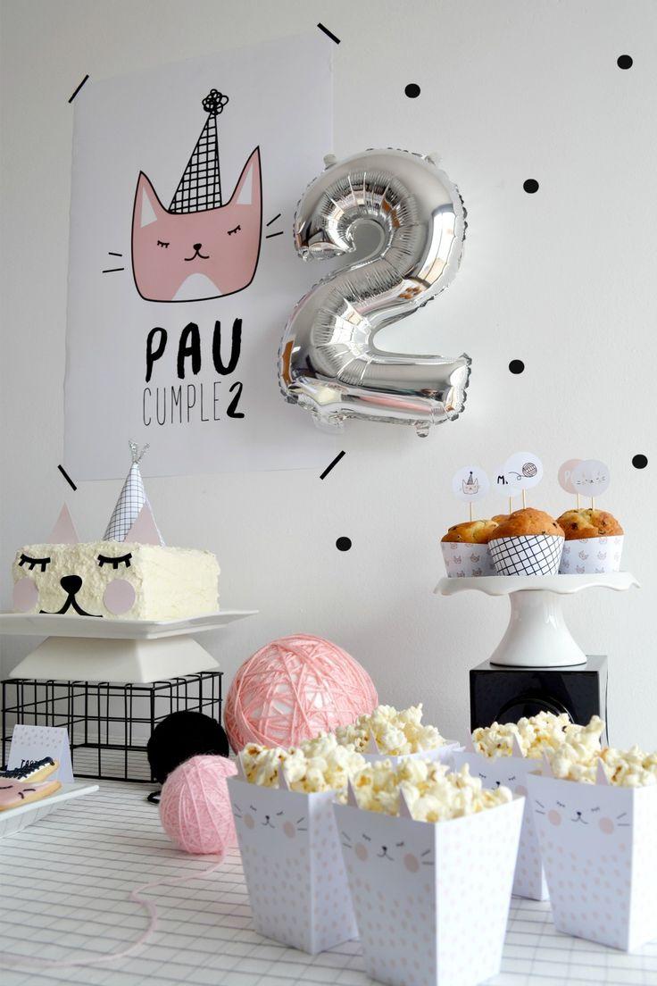 Little Kitten, la fiesta gatuna de Paula - All Lovely Party