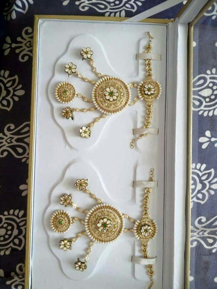 rajputi jewellery hathful by Kuldeep Singh