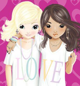Das sind meine Lieblings TopModels Talita und Louise