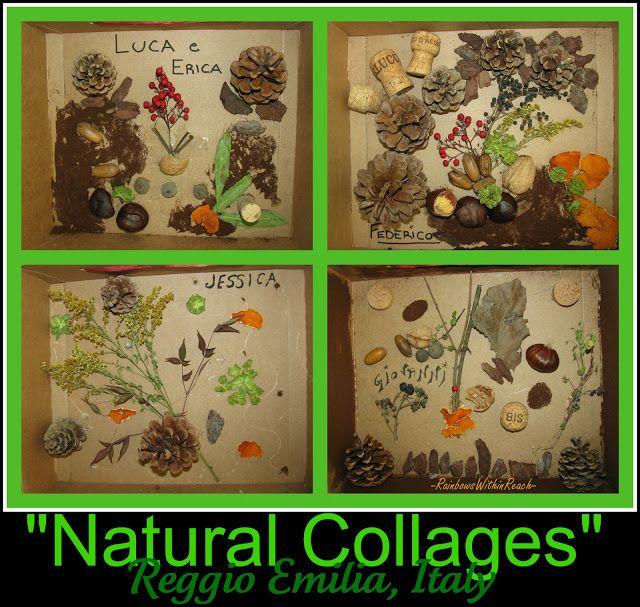 Reggio Nature Art for Preschool