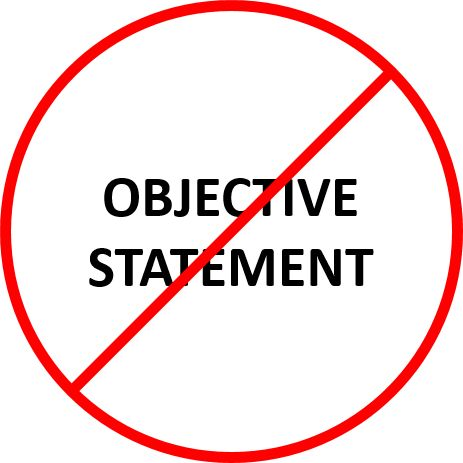 "One of the most frequent questions I get is - how to write an objective for a resume. My answer is always, ""Don't."" Write a Professional Summary instead.In the distant past, an ""objective"" was THE thing to write. It was placed"
