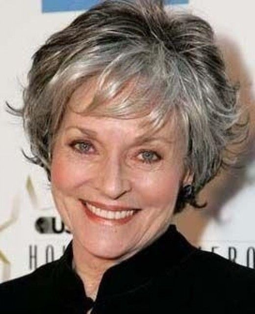 Lee Meriwether. Former Catwoman on Batman series and former Miss America. The Silver Fox, Stunning Gray Hair Styles