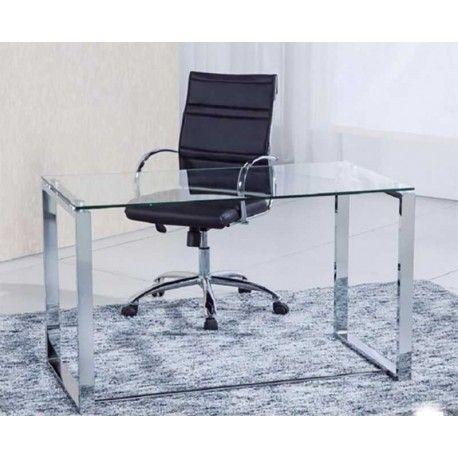 Si estás buscando una Mesa de Escritorio que además de cumplir su funcionalidad sea elegante la mesa benneto es la que estabas buscando ya que dará un toque profesional a tu oficina o despacho. Está disponibles en estructura cromada o blanca.