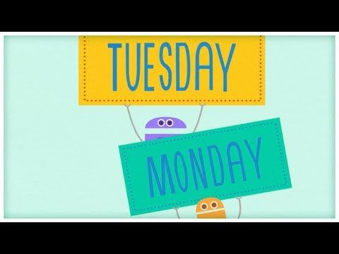 """Time: """"Seven Days,"""" The Days of the Week by StoryBots"""