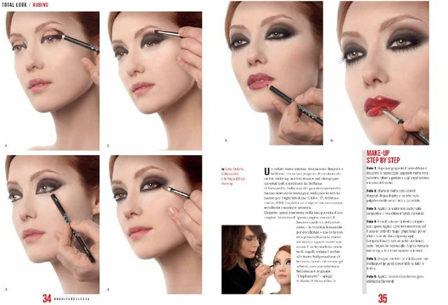 by Stefania D'Alessandro - steps  Smokey eye is a passion! post