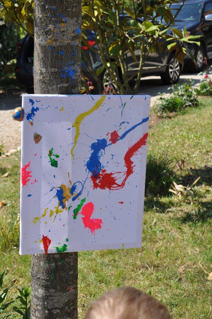Peinture avec des coquilles d 39 oeufs peinture pinterest - Peinture coquille d oeuf ...