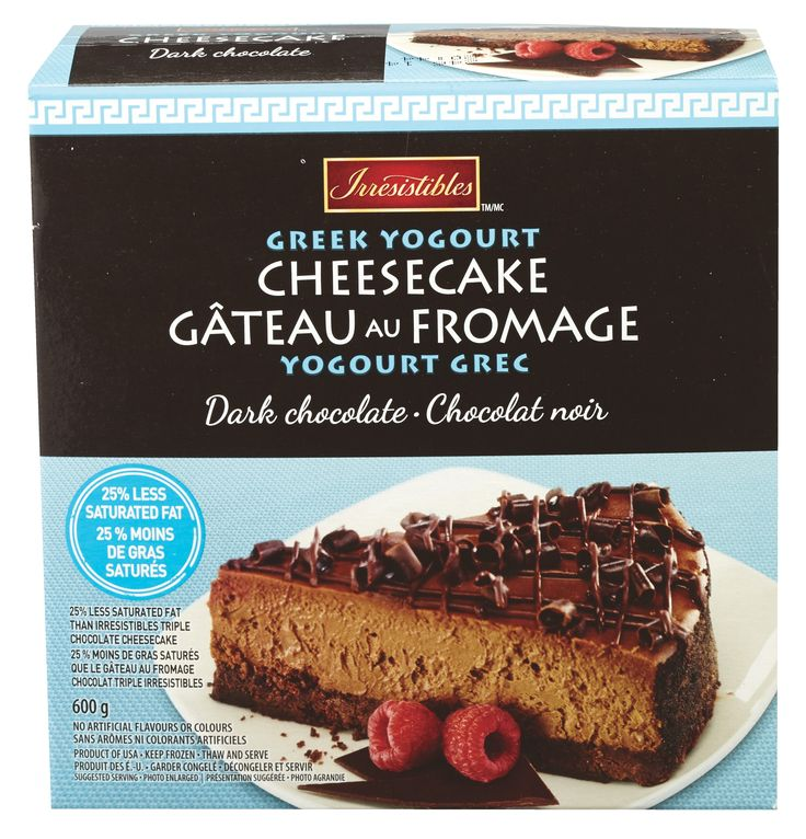 METRO BRANDS, G.P. / Irresistible Greek Yogourt Cheesecake