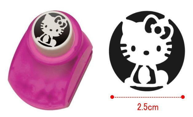 Hello Kitty Craft Paper Punch Art Whole Body Sanrio Japan 100 Official New | eBay