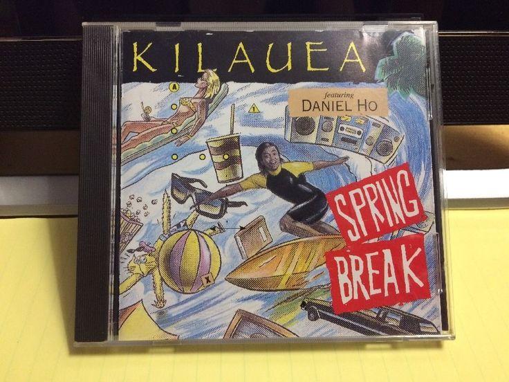 Kilauea SPRING BREAK Music 1993 CD + Daniel Ho & Various Artists BRN 9310-2 Exc
