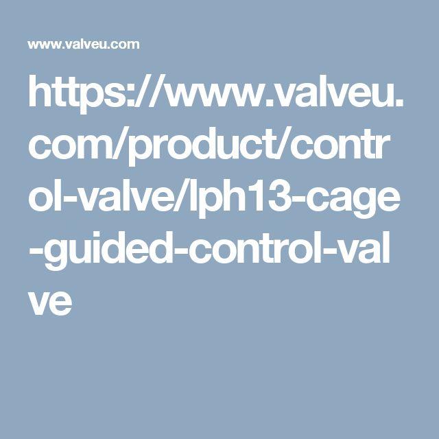 https://www.valveu.com/product/control-valve/lph13-cage-guided-control-valve