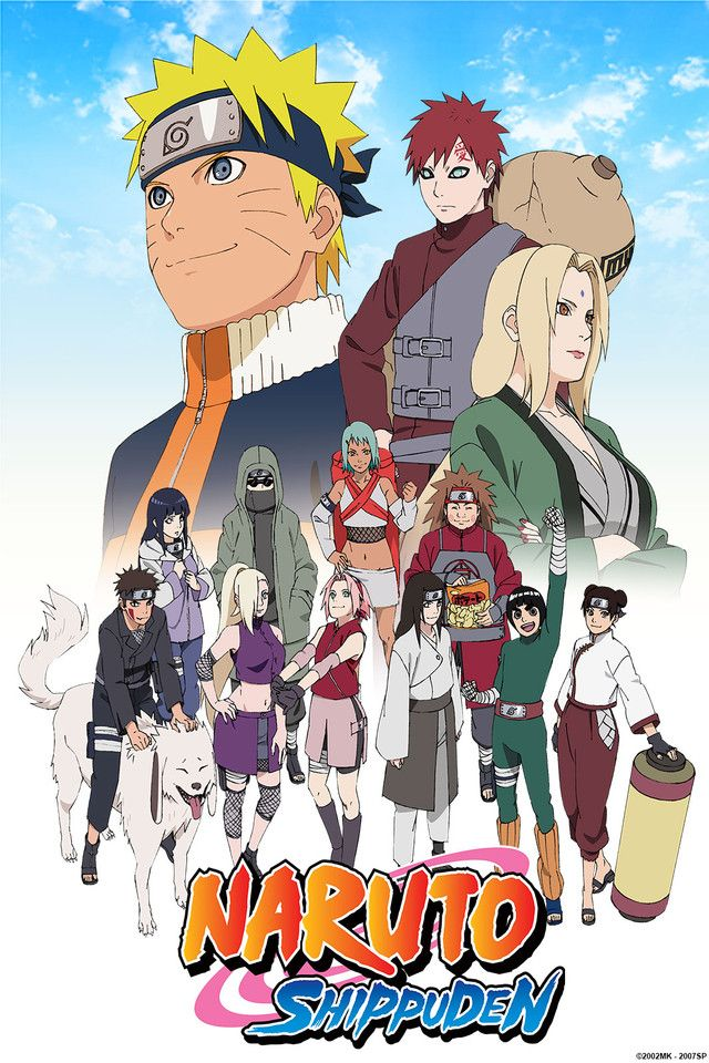 Crunchyroll - Naruto Shippuden Episodios completos en streaming online gratis