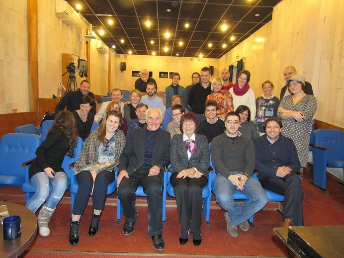 Higher courses for Directors and scriptwriters. Moscow. 2015