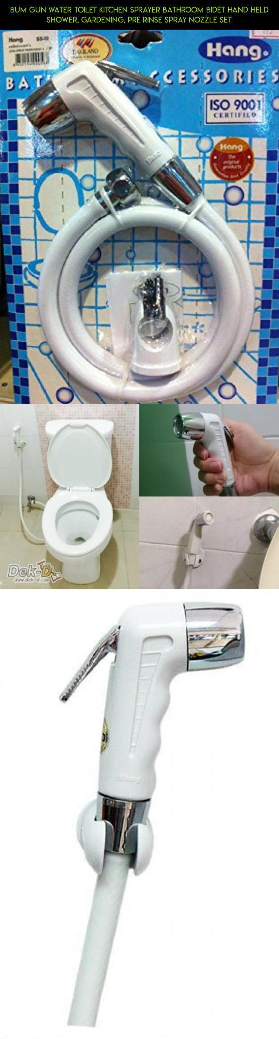Bum Gun Water Toilet Kitchen Sprayer Bathroom Bidet Hand Held Shower   Gardening  Pre Rinse. Best 25  Bidet and toilet parts ideas on Pinterest   Showers