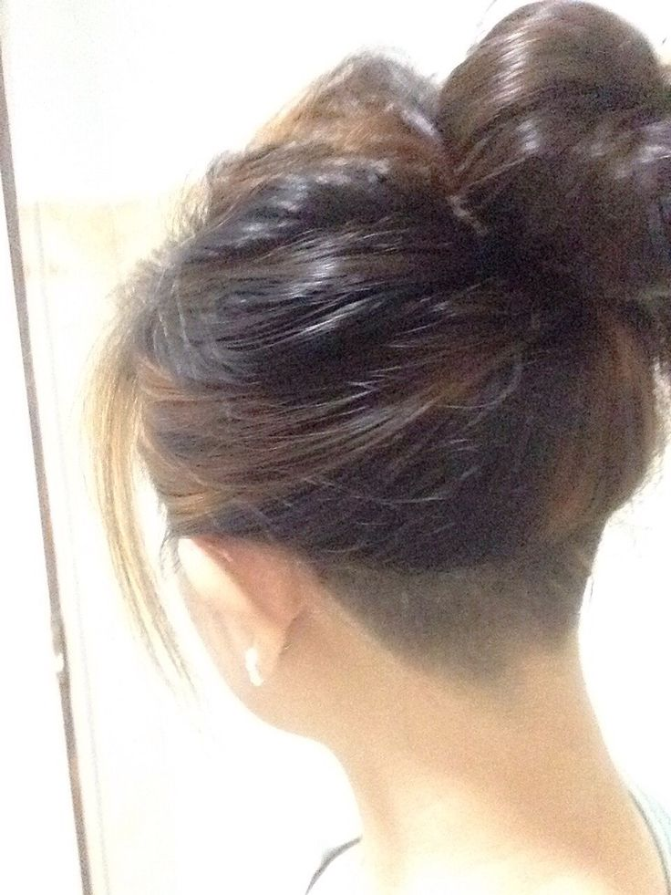 294 Best Nape Haircut Images On Pinterest Hairstyles