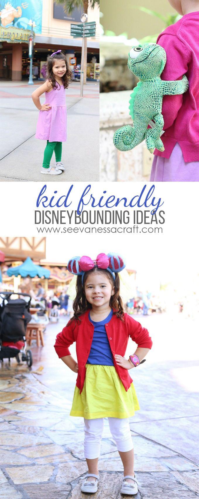 Disney World Disneybounding Ideas for Kids #DisneySMMC