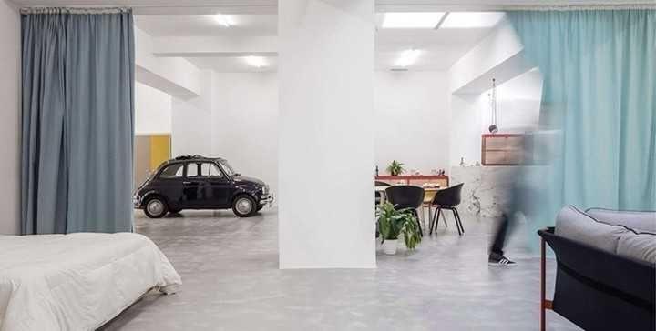 ¿Es posible vivir en un garage convertido en casa?