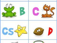 ABC gyakorló gyerekeknek A 1. oldal