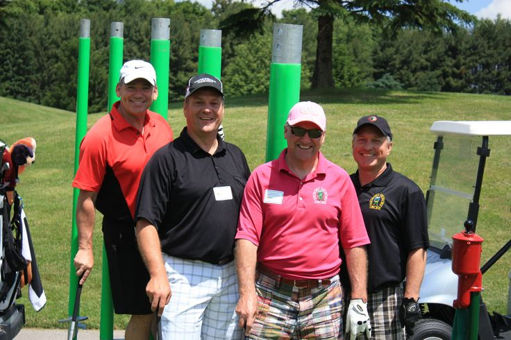 Team Hickory at the 2013 HDD Golf Classic.