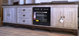 African Allure Units with fitted Oven and Hob