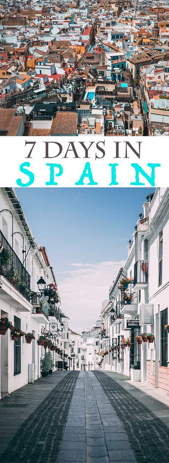 What do to with 7 days in Spain - the highlights!