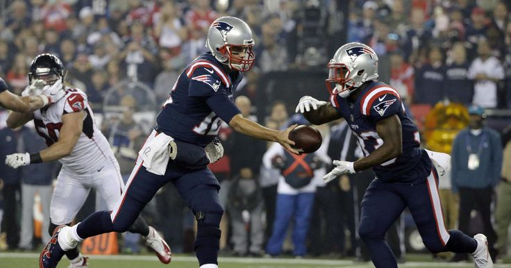 Observations about New England's win over Atlanta from the press box at Gillette Stadium