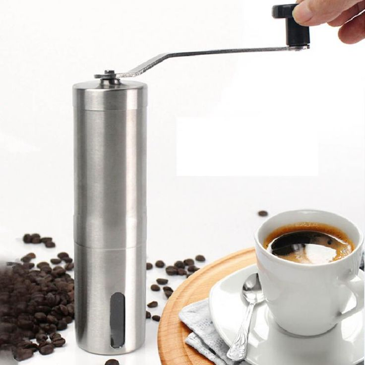 check price stainless steel portable handheld coffee grinder professional grade perfect manual coffee #espresso #grinder