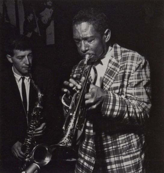 J.R. Monterose and Kenny Dorham at the Cafe Bohemia, Greenwich Village, New York City; May 31, 1956
