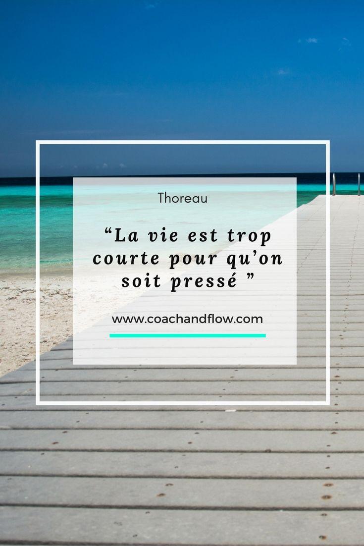 La vie est trop courte pour qu'on soit pressé #citation #quote #développementpersonnel #psychologiepositive #positivepsychologie