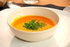 Cremet hokkaido græskarsuppe - luksus suppe med græskar