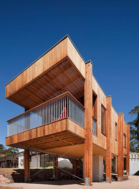 Nice Good Wood   Mornington Beach House / Clare Cousins Architects Design Team:  Clare Cousins, Tara Ward, Jessie Fowler Photographer: Shannon McGrath The  Brief ...