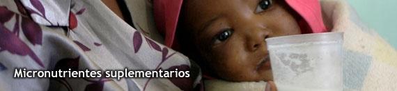 Ponemos en marcha programas de vacunación y administramos vitamina A y hierro a madres y niños.
