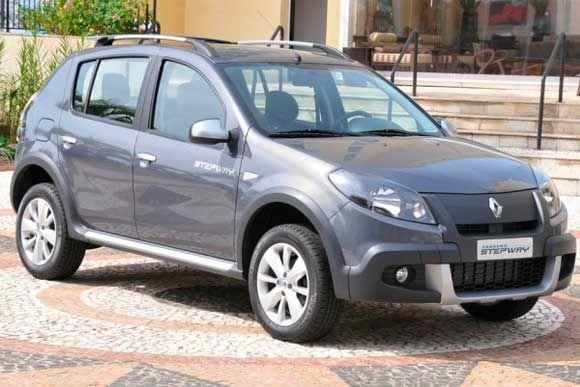 Conheca Os Dados Tecnicos Do Renault Sandero Stepway 1 6 16v At 2012 Consumo Potencia E Mais Sandero Stepway Carro Brasileiros Carros Legais