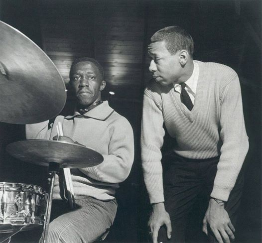 Art Blakey and Lee Morgan by Francis Wolff