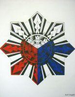 Tribal Philippine Sun by badlucky666