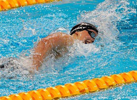レデッキーの力泳 :フォトニュース - リオ五輪・パラリンピック 2016:時事ドットコム