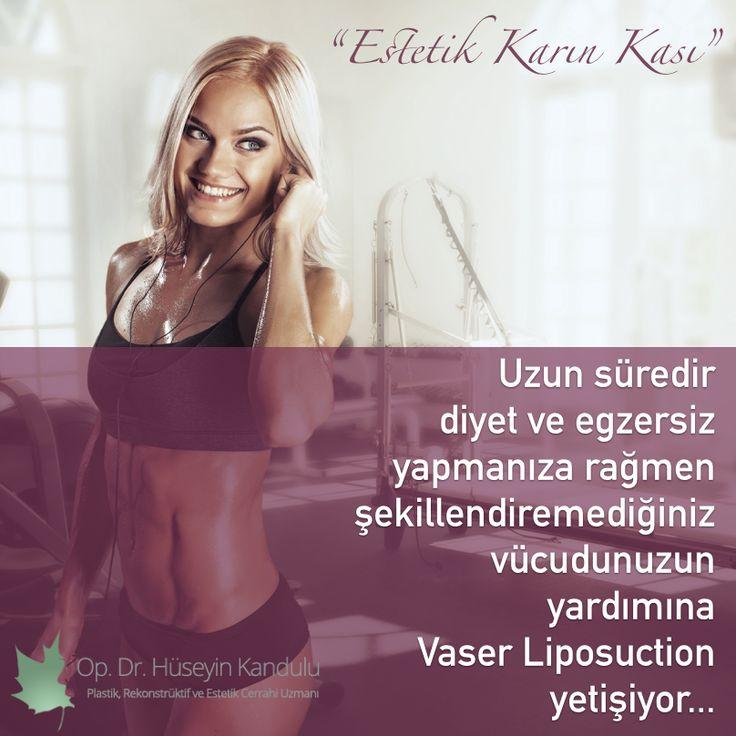 Vücudunuzu istediğiniz gibi şekillendirin! http://huseyinkandulu.com/estetik-vaser-liposuction/