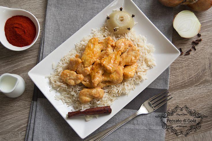 Pollo+con+paprika+e+riso+pilaf