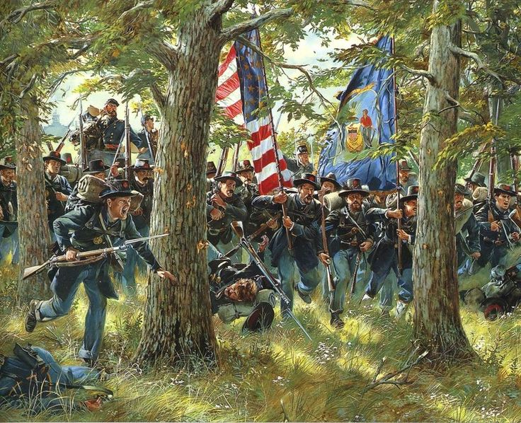 Рейнольдс и 2-ой Висконсинский, Геттисберг 1 июля 1863