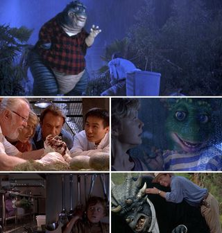 """""""Jurassic Park"""" but the dinosaurs are from the 90s TV show """"Dinosaurs"""" : pics"""