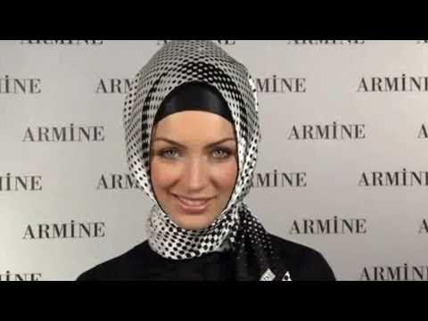Hijab Fashion: Armine Eşarp Bağlama Modelleri # 12 - YouTube
