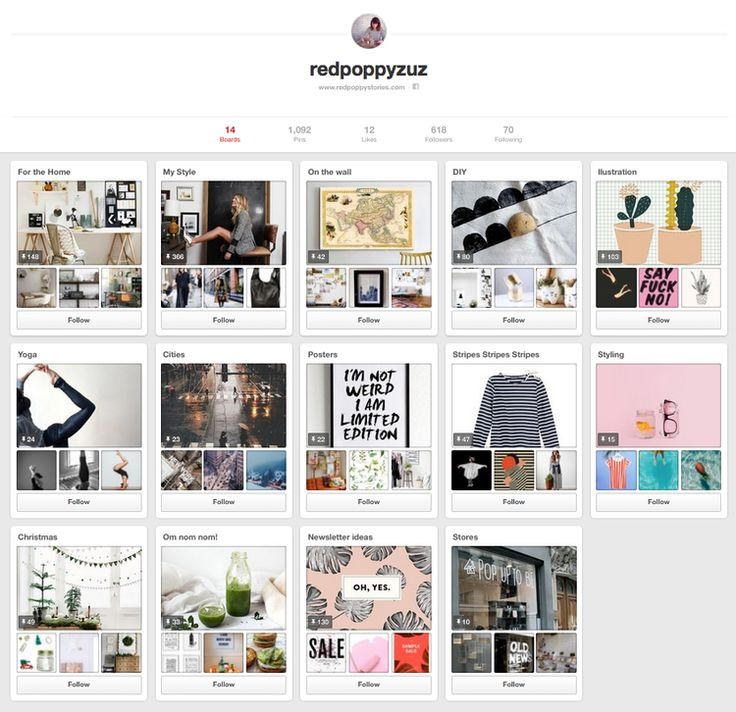 Pinterest, My Love. — red poppy stories