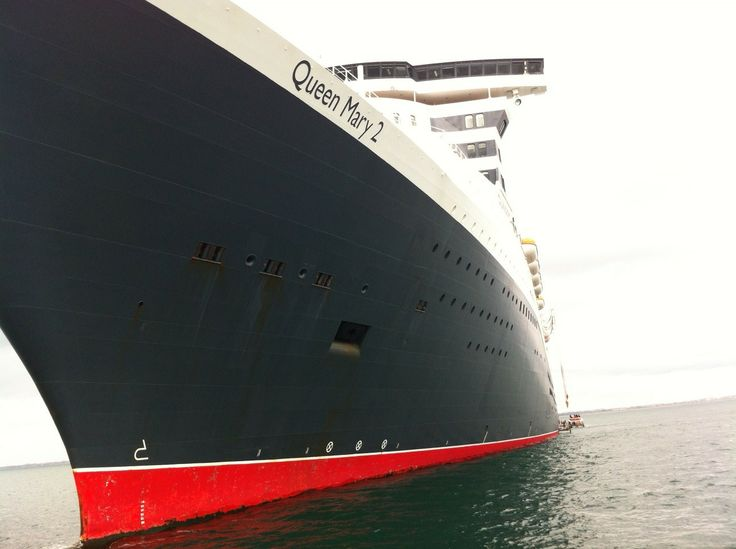 The first visit of the world's most luxurious cruise ship, the Queen Mary II, to Dun Laoghaire in May 2013.