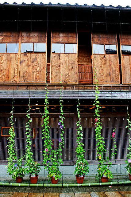 Higashi Chaya district, Kanazawa, Japan