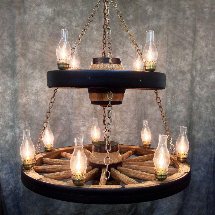 Teixeira 12 Light Wagon Wheel Chandelier: 1000+ Ideas About Wagon Wheel Chandelier On Pinterest