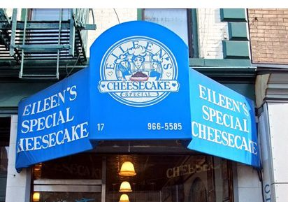 Eileen's Special Cheesecake | 17 Cleveland Place (6 to Spring or D to Broadway/Lafayette) 212-966-5585