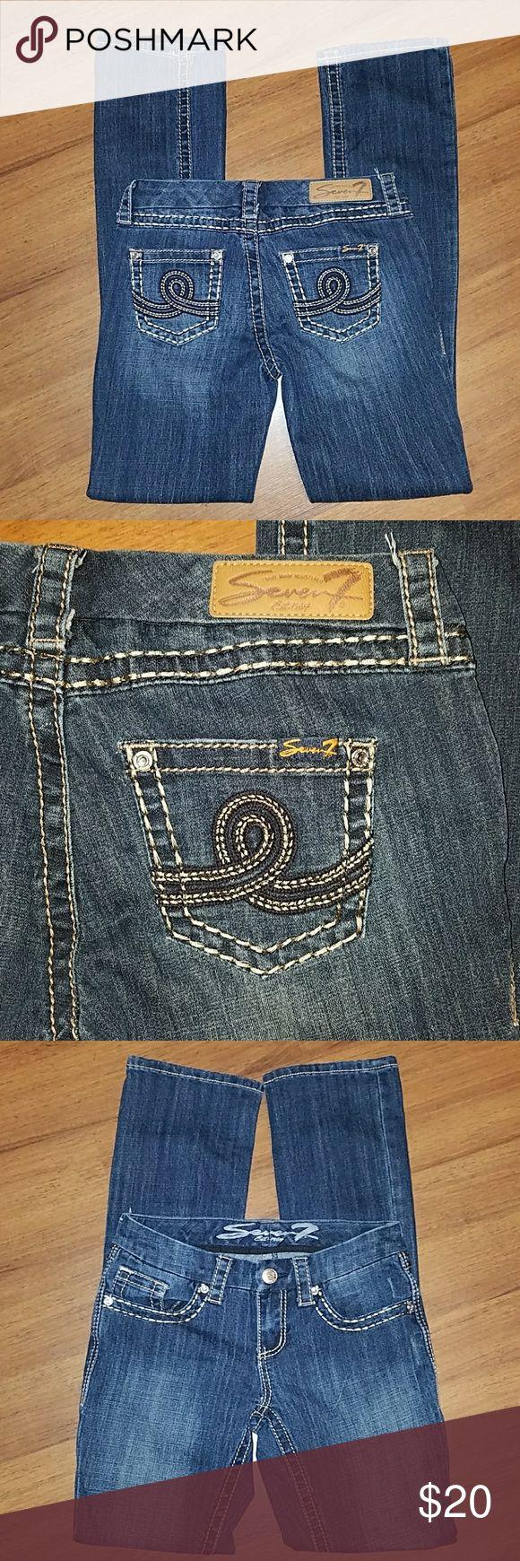 Seven7 Jeans size 2 slim bootcut Seven7 Jeans size 2 slim bootcut. Inseam is 31 inches. Seven7 Jeans Boot Cut